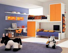 Amenajari interioare in camera copilului on http://www.amenajarile-interioare.ro