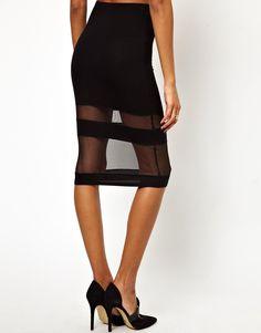 #asos                     #Skirt                    #ASOS #PETITE #Exclusive #Sheer #Panel #Pencil #Skirt                         ASOS PETITE Exclusive Sheer Panel Pencil Skirt                                http://www.seapai.com/product.aspx?PID=1106530