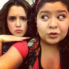 Laura and Raini!