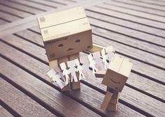 - Well done little Danbo Box Robot, Danbo, Little Boxes, Jenga, My Works, Crane, Usb Flash Drive, Have Fun, Marketing
