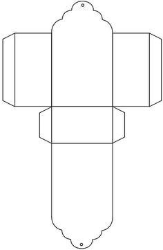Caja china by etta Pillow Box Template, Paper Box Template, Box Templates, Eid Crafts, Paper Crafts, Diy Gift Wrap Box, Digital Paper Free, Printable Box, Treasure Boxes
