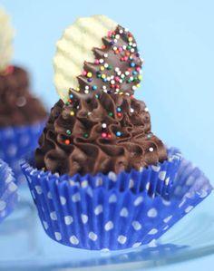 Chocolate-Mashed Potato Cupcakes