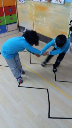 Gross Motor Activities, Movement Activities, Team Building Activities, Gross Motor Skills, Indoor Activities, Preschool Learning, Classroom Activities, Physical Activities, Toddler Activities