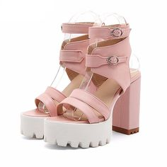0763b7f4d8d6  Visit to Buy  Gdgydh Hot Sales 2017 Summer Gladiator Women Sandals Sexy  High Heels Cut-outs Female Sandals Open Toe Platform Ladies Shoes