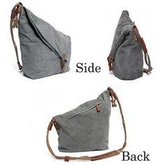Women Vintage Messenger Bag Genuine Leather Canvas Crossbody Bag Tribal Rucksack is designer, see other cute bags on NewChic Mobile. Cowhide Leather, Leather Bag, Style Tribal, Vintage Messenger Bag, Bag Women, Canvas Crossbody Bag, Cute Bags, Casual Bags, Hobo Bag