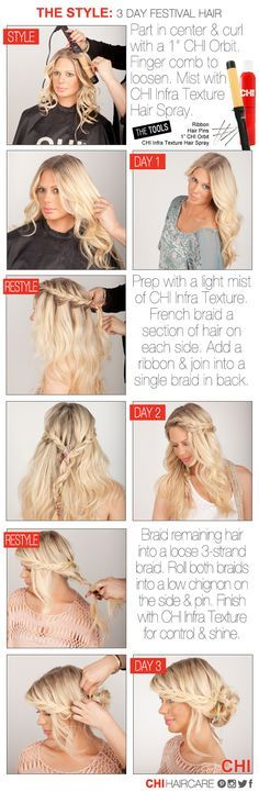 summer festival hairstyles - Google Search
