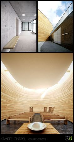 Making of the Kamppi Chapel by Jeff Mottle - Courtesy of cgarchitect