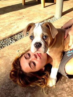 Old Miley Cyrus and dog