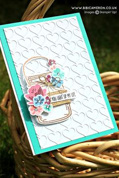 Stampin' Up! Jar of Love, TGIF Challenges!