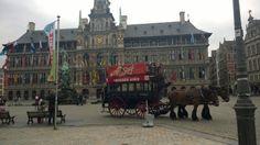 Antwerpen in Antwerpen. Siellä oli söpöjä hevosvaunuja.