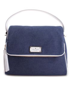 Look what I found on #zulily! Denim & White Greer Crossbody Shoulder Bag #zulilyfinds