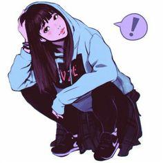 pastel goth anime | Tumblr