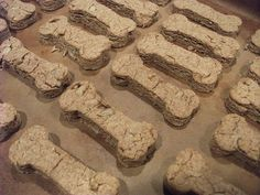 peanut butter homemade dog biscuits