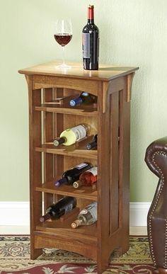Wine Rack Woodworking Plan