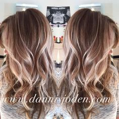 Balayage uhhh yes please!! But this blond with my red