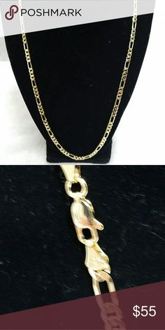 14k italy fargaro link chain New gold filled. Jewelry Necklaces