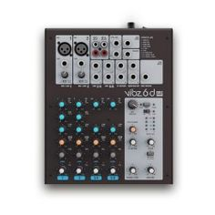 LD Systems VIBZ 6D PA Mixer 6 Channel with DFX