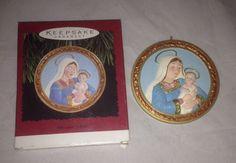 Hallmark Keepsake Ornament 1996 Precious Child In Box