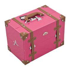 maletin-maquillaje-rosa-y-marron-vintage.jpg (800×800)