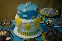 Baloes e bolo... tudo a ver