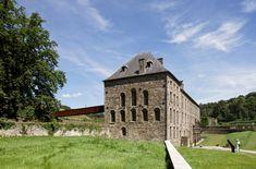 Villers Abbey Visitor Center in Belgium by Binario Architectes