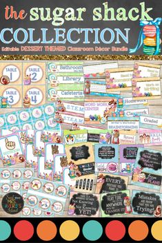 When it comes to classroom decorations, there are so many options for teachers to choose from.  This SWEET themed bundle is FULL of editable back to school essentials for teachers to print and personalize their classroom!  Click here to check out this bundle of classroom decor and see how you can easily have the SWEETEST and cutest classroom on your campus! #classroomdecor #classroommanagement #backtoschool #macaroons #desserts #sweets #classroom #organization #mrsaverysisland