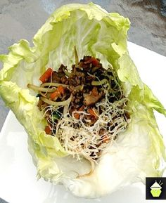 how to make Yuk Sung - Chinese Lettuce Wraps