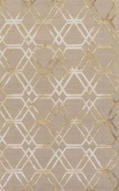 Beige, geometric rug from Surya's new Serafina collection (SRF-2015).: