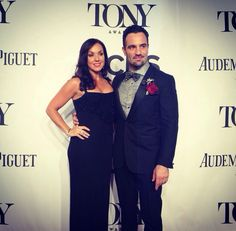 Ramin and Mandy Karimloo at the 2014 Tony Awards