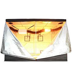 Xlarge Non-toxic Mylar Reflective Grow Tent Hydroponic Dark Room Box Hut This is XL Grow Tent with large door and improved Hydroponics System, Hydroponic Gardening, Aquaponics Kit, Indoor Gardening, Vent Covers, Grow Tent, Fruit In Season, Window Design, Grow Lights