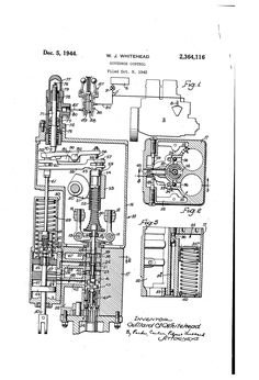 Patent US2364116 - Governor control - Google Patents