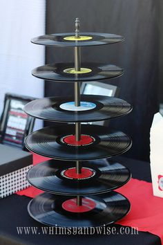 ROCK-N-Roll cupcacke tree