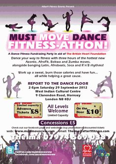 mustmove dance fitness athon, looking forward to this!