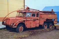 Tatra Old Trucks, Fire Trucks, Jeep Concept, Automobile, Fire Apparatus, Emergency Vehicles, Central Europe, Fire Engine, Barn Finds