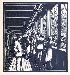 Henry Glintenkamp from A Wanderer in Woodcuts