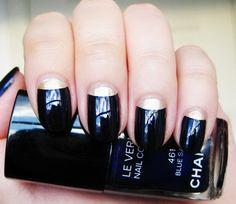 Chanel Nails #nails