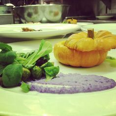 "A #vegan dinner from the culinary school ""The Natural Gourmet""   Photo by urbspice"
