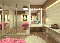 Recursos para cambiar de habitación: de niños a adolescentes – Deco Ideas Hogar Girl Bedroom Designs, Girls Bedroom, Bedrooms, Dream Rooms, Dream Bedroom, Home Room Design, Home Interior Design, Headboard Decor, Bedroom Decor