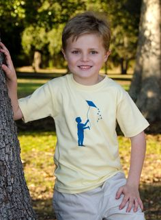 Kite Kids Boy's Nostalgic Graphic Tee in Short Sleeves, $20.00
