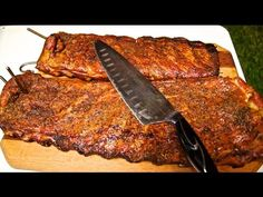 Chipotle Honey Spare Ribs on the Pit Barrel Cooker - YouTube