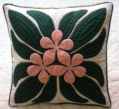 "☆ Tv drama of last second love ""from"" art cooperation was ☆ ☆ Superfine fabrics ☆ handmade Hawaiian quilt Cushion cover Kit hk10010"