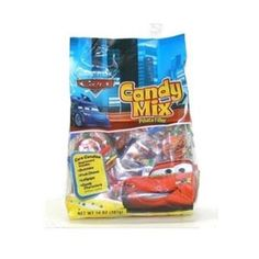 <p>A pinata mixture of all your favorite Cars characters. Each bag contains an assortment of Gummies, Fruit Chews, Lollipops and Candy Characters. This product is manufactured in a facility that processes peanuts, almonds, hazelnuts, walnuts milk and soy.</p>