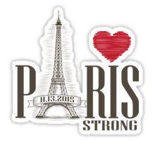 PARIS STRONG Sticker