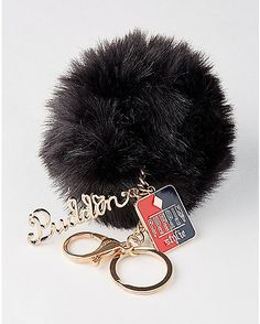 Harley Quinn Puddin Pom Pom Keychain - Suicide Squad - Spencer's