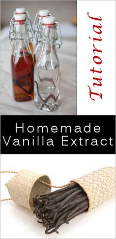 This homemade brew is very easy to make and can be stored away in the pantry for your own use (and never run out again!) but also keep a batch on hand for gift-giving, they'll be very appreciated! All that's needed is alcohol (such as vodka or brandy), vanilla beans and glass jars or bottles.
