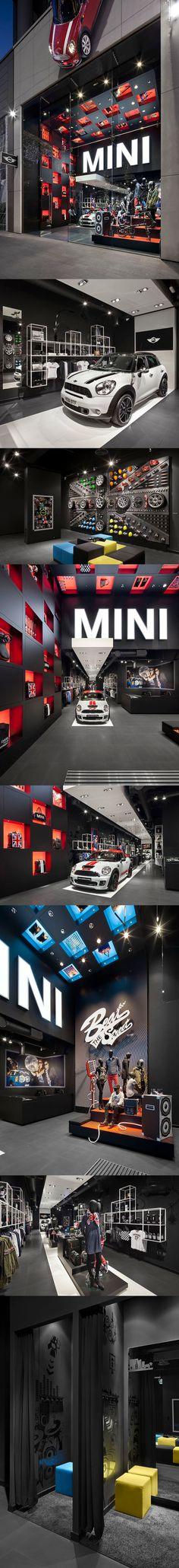Mini showroom, London
