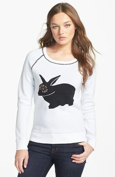 love this!  but the eye on the rabbit is a little satanic.  -MARC BY MARC JACOBS Intarsia Sweater | Nordstrom