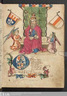 5 [1r] - Ms. germ. qu. 12 - Die sieben weisen Meister - Page - Mittelalterliche Handschriften - Digitale Sammlungen