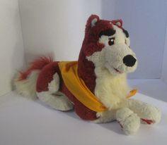 """Balto Jenna 1995 Puppy Dog Plush 14"""" 1995 Plush Stuffed 1995 Vtg Universal City #Equity"""
