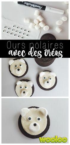 Voici comment faire des Ours polaires avec des Oreos. FACILE!